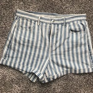 American Eagle High-Waisted Mom Shorts